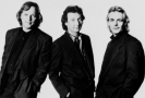 Zleva Dave Gilmour, Nick Mason and Richard Wright.