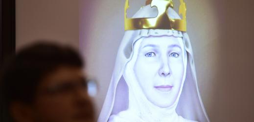 Podoba královny Judity Durynské, manželky krále Vladislava II.
