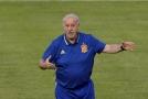 Trenér španělské reprezentace Vicente Del Bosque.