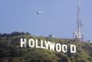 Nápis Hollywood.