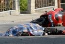 Řidič motorky utrpěl při nehodě zranění neslučitelná se životem (ilustrační foto).
