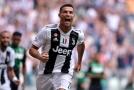 Ronaldo se trefil za Juventus, zařídil výhru nad Sassuolem.