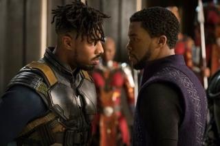 Michael B. Jordan (vlevo) byl za svůj výkon v Black Pantherovi hojně chválen.