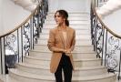Victoria Beckhamová zazářila na Fashion Weeku v Londýně.