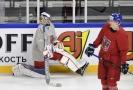 Dominik Hrachovina v dresu české hokejové reprezentace.