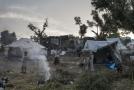 Uprchlický tábor na ostrově Lesbos.
