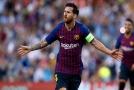 Lionel Messi se blýskl parádním trestňákem.