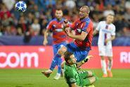 Plzeň - CSKA Moskva. Hosté vyrovnali v nastavení z penalty