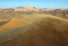 Saharská poušť.