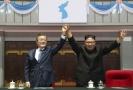 Kim Čong-un a jihokorejský prezident Mun Če-in.