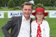 Petr Vondráček strávil prázdniny s dcerou