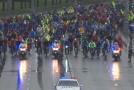 Ruští cyklisté se hromadně vydali do ulic.