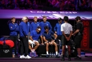 Roger Federer a Novak Djokovič nestačili v Laver Cupu na deblový pár Jack Sock a Kevin Anderson.