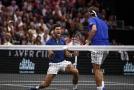 Novak Djokovič s Rogerem Federerem poprvé na jedné straně kurtu v Laver Cupu.