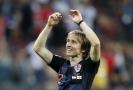 Chorvatský fotbalista Luka Modrič na Mistrovství světa.