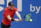 Německý tenista Matthias Bachinger (ilustrační foto).