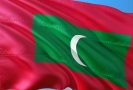 Vlajka Malediv.