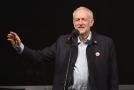 Vůdce britských labouristů Jeremy Corbyn na výroční stranické konferenci v Liverpoolu..