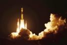 Start rakety H-IIB z vesmírného střediska v Tanegašimě.