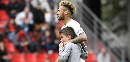 Neymar předvedl skvělé gesto.
