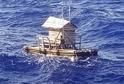 Indonésan se plavil na plošině sedm týdnů.