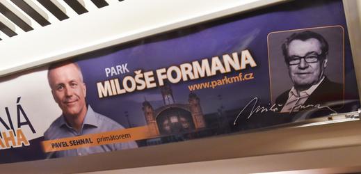 Předvolební kampaň Pavla Sehnala.