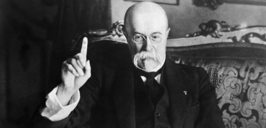 Tomáš Garrigue Masaryk, první prezident Československa.