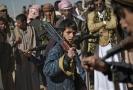 Jemenští šíitští povstalci známí jako Húsíové.