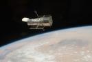Hubbleův vesmírný dalekohled.