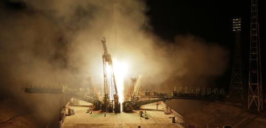 Nepovedený start rakety.