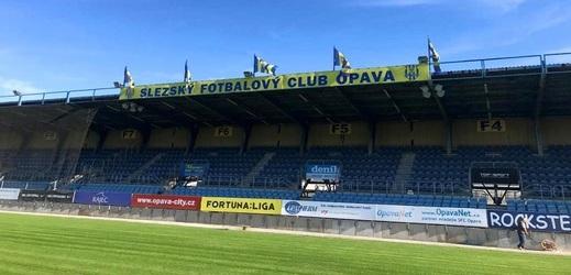 Fotbalisté Opavy se vrátí na svůj stadion.