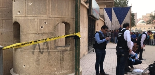 Útok na kostel z roku 2017.