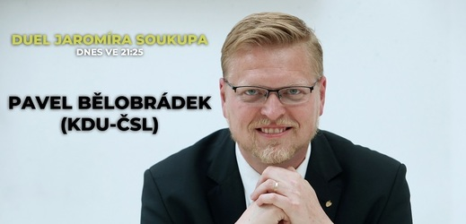 Pozvání do Duelu Jaromíra Soukupa přijal předseda KDU-ČSL Pavel Bělobrádek.