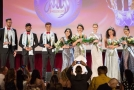 Vítězové soutěže Miss & Mister Deaf World 2018. Jan Emmer na snímku vlevo.