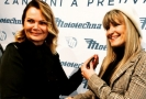 Generální ředitelka Karolína Topolová a herečku Chantal Poullain (vpravo).