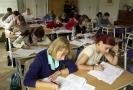 Zájemci o studium během přijímacího řízení (ilustrační foto).