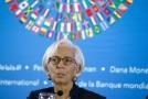 Výkonná ředitelka Mezinárodního měnového fonu Christine Lagardeová.