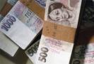 Padělané peníze.