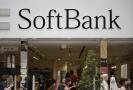 Akcie SoftBank oslabily.