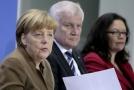 Angela Merkelová a Horst Seehofer.