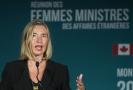 Šéfka unijní diplomacie Federica Mogheriniová.
