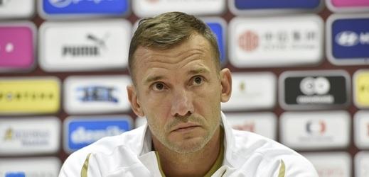 Andrej Ševčenko, trenér ukrajinské reprezentace.