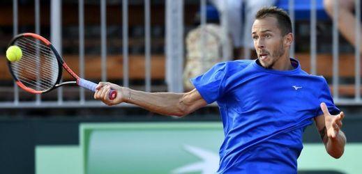 Lukáš Rosol hraje letos druhý turnaj na okruhu ATP.