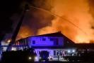 Požár v Lysé nad Labem.
