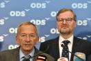 ODS by si přála v čele Senátu Jaroslava Kuberu (vlevo).