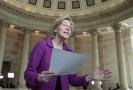 Americká senátorka Elizabeth Warrenová.