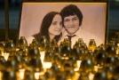Zavražděný novinář Ján Kuciak s přítelkyní.