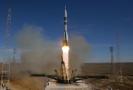 Vesmírná raketa Sojuz MS-10.