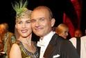 Dalibor Gondík se svou taneční partnerkou a učitelkou Alicí Stodůlkovou.