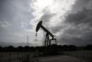 Těžba ropy.